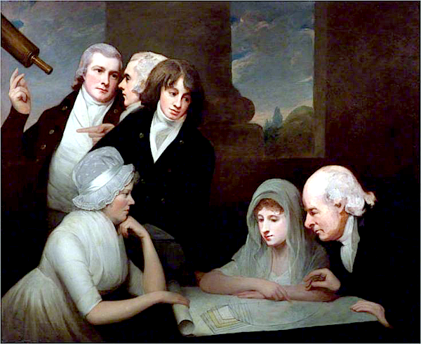 Adam Walker and his family (1801) - George Romney