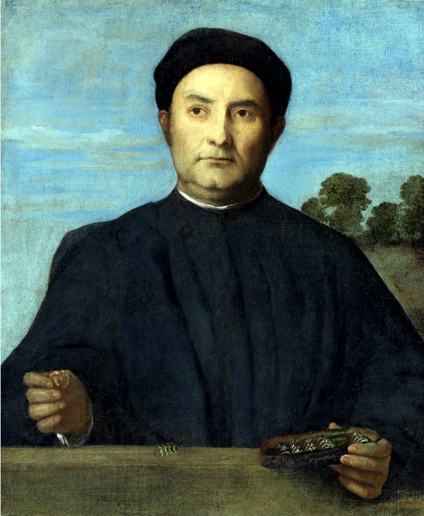 Portrait of a Jeweler (1510) - Lorenzo Lotto