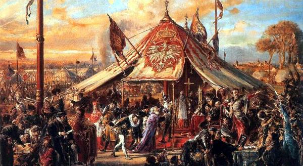 The republic at zenith of power golden liberty election AD 1573 (1889) - Jan Matejko