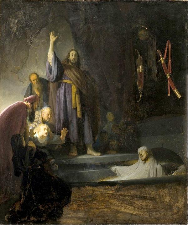 La Résurrection de Lazare (1630) - Rembrandt