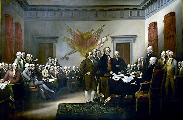La Déclaration d'indépendance (1817 - 1819) - John Trumbull