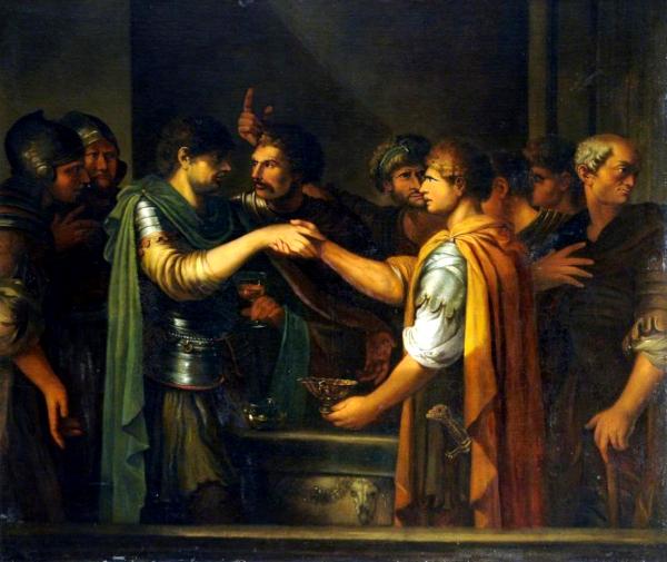 Le serment de Catilina (1809) - Joseph-Marie Vien