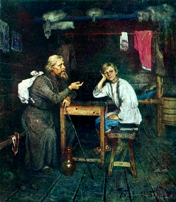 Future Monk (1889) - Nikolaï Bogdanov-Belski