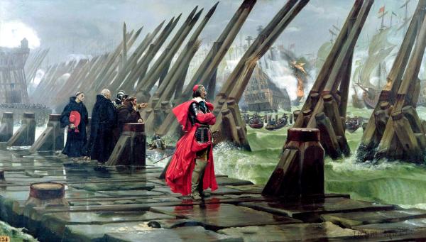 Siège de La Rochelle (1881) - Henri Motte