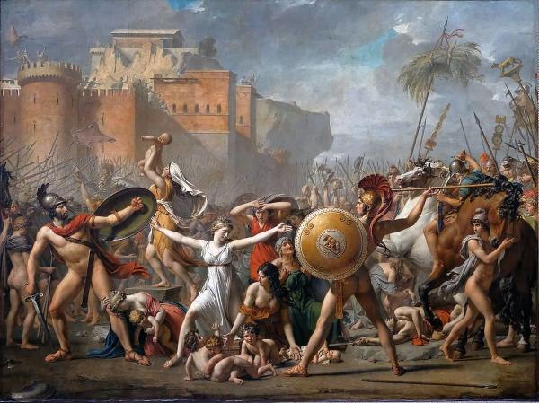 Les sabines (1799) - Jacques Louis David