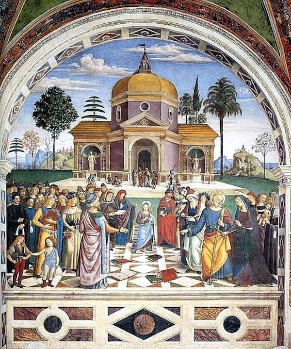 Christ among the doctors (1501) - Pinturicchio