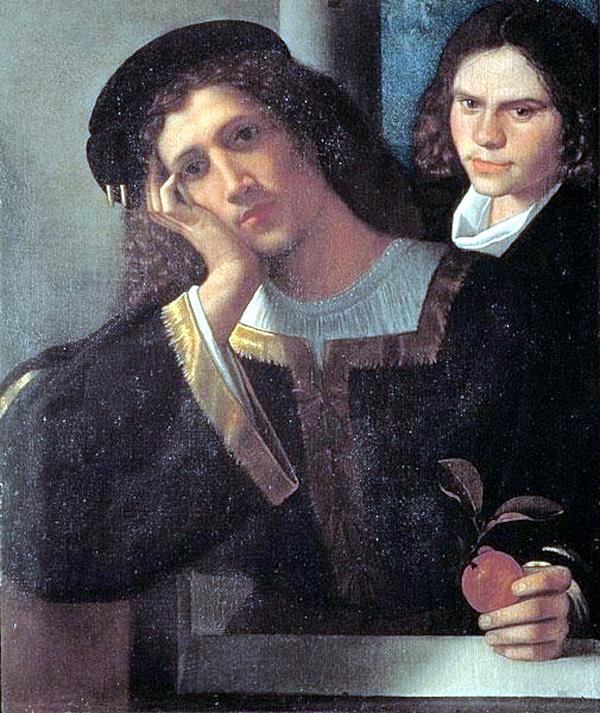 Double portrait (1502) - Giorgione