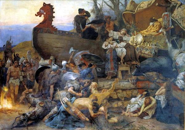 Funeral of ruthenian noble (1884) - Henryk Siemiradzki