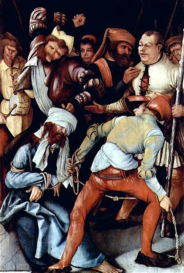 The Mocking of Christ (1503) - Matthias Grünewald