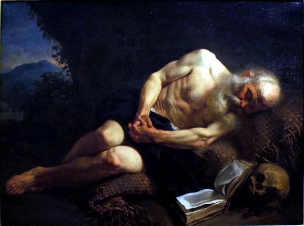 Anachorète endormi (1751) - Joseph Vien