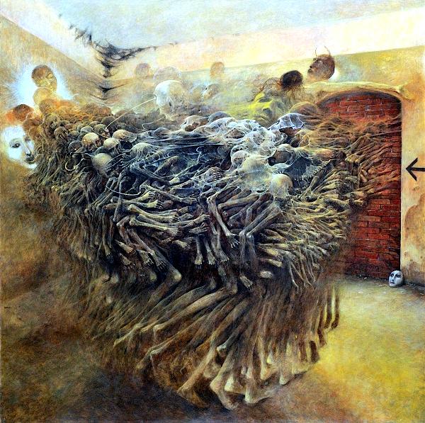 Untitled (1980) - Zdzislaw Beksinski