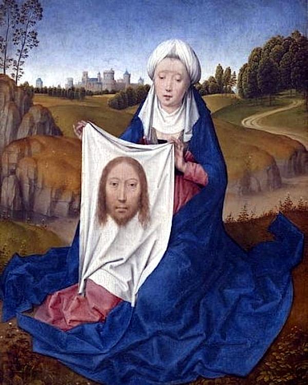 St. Veronica (1470 - 1475) - Hans Memling