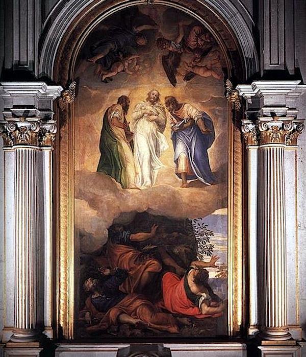 Transfiguration of Christ (1555 - 1556) - Paolo Veronese