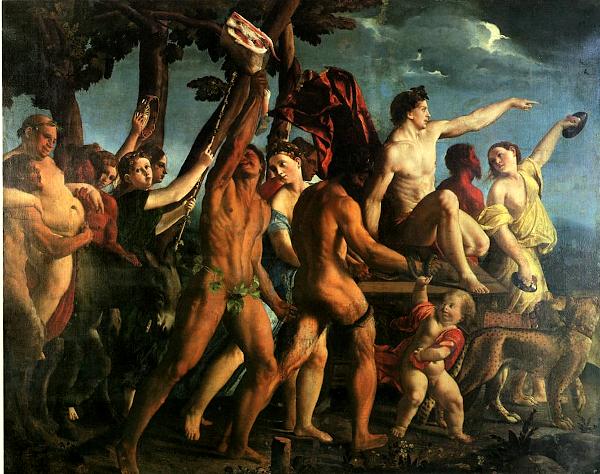 Triumph of bacchus (1514) - Dosso Dossi