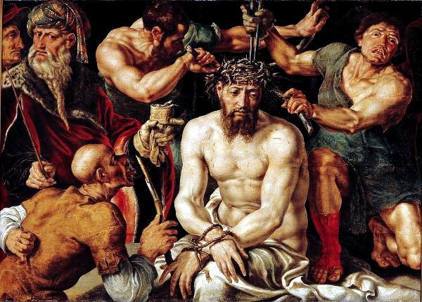 Christ Crowned with Thorns (1550) - Maarten van Heemskerck