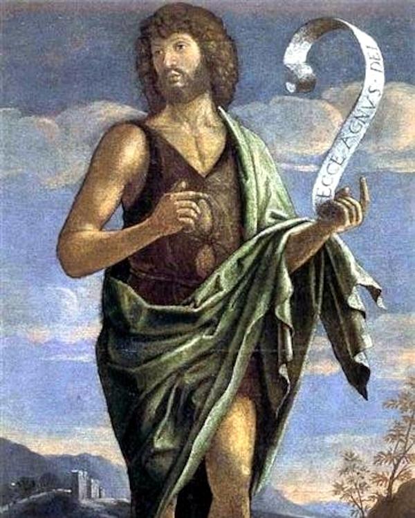 John the Baptist (??) - Bartolomeo Veneto