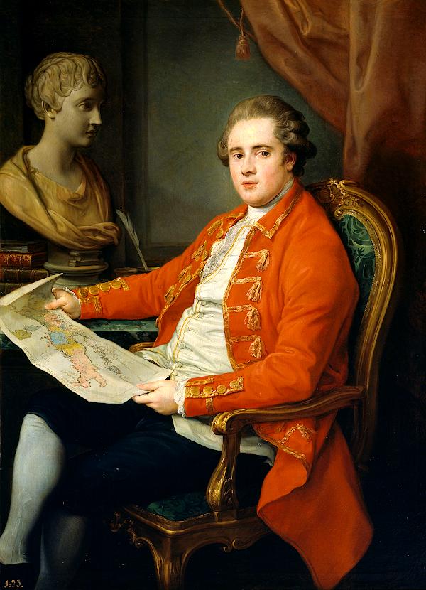 George Legge, Viscount Lewisham (1778) - Pompeo Batoni