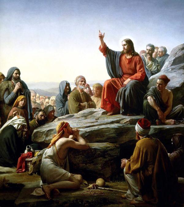 Sermon on the Mount (1877) - Carl Heinrich Bloch
