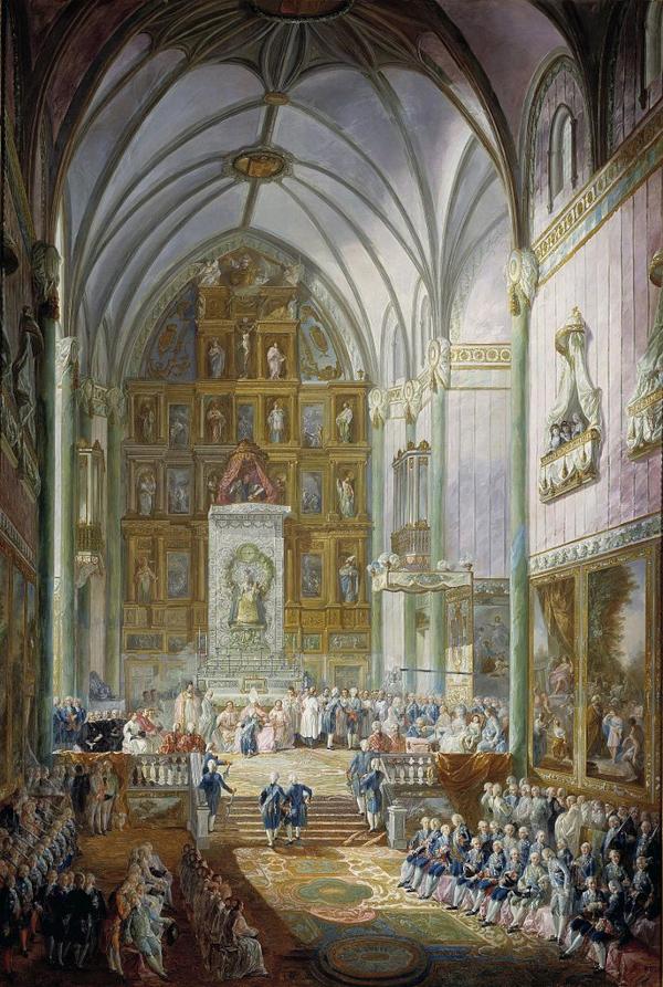 Jura de Fernando VII como Príncipe de Asturias (1791) - Luis Paret y Alcázar