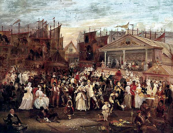 Greenwich fair () - Augustus Edwin Mulready