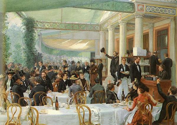Dejeuner Du Salon (1889) - Jean-André Rixens