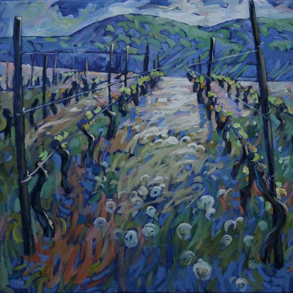 Motley grass in the vineyard (2016) - Laima Goda