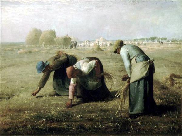 Des glaneuses (1857) - Jean-François Millet