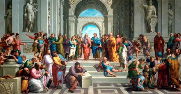 The School of Athens after Raphael (1755) - Anton Raphael Mengs