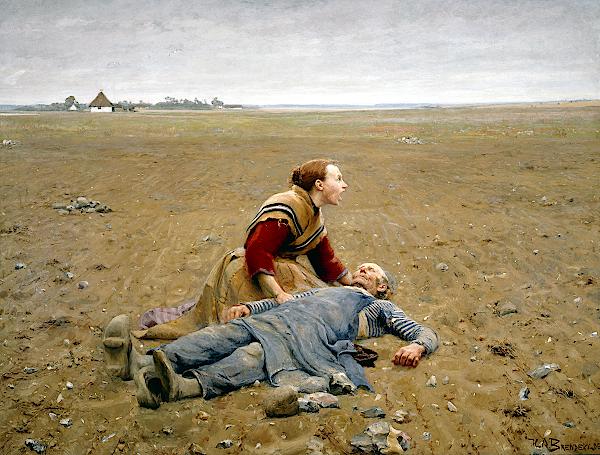 Worn Out (1889) - Hans Andersen Brendekilde