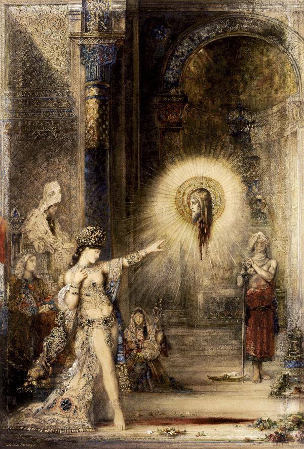 L'Apparition (1875) -Moreau