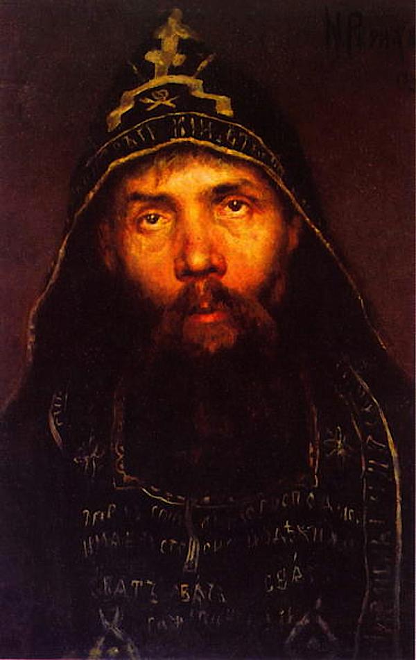 Hermit (1895) - Nicholas Roerich