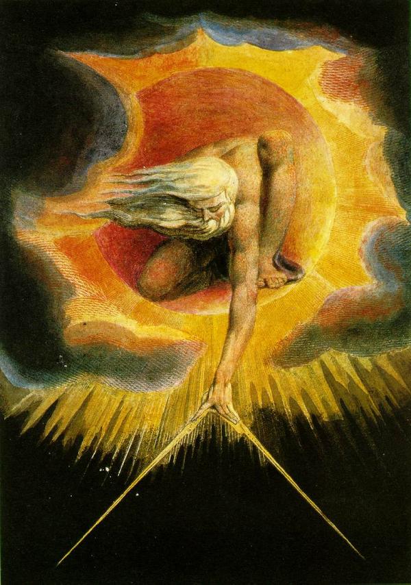 L'Ancien des Jours (1794) - William Blake